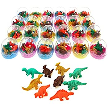 8455b2086f794 HENBRANDT Pack of 20 Stretchy Colour Dinosaurs - Ideal Loot Party ...