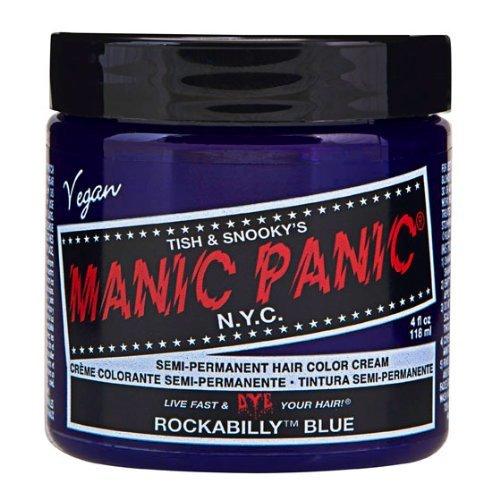 Manic Panic High Voltage Classic Cream Formula Colour Hair Dye (Rockabilly (Blue Dye Hair Manic Panic)