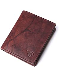 [Sponsored]RUGE Genuine Leather Antique Brown Men's Stylish Wallet Along With 7 Card Holder, 1 Id Card Holder, 2 Cash Compartment...