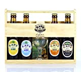 Vous aurez une belle idée cadeau en offrant ce coffret cadeau de bières Artisanales Vous allez pouvoir offrir des bières artisanales d'exceptions médaillées à de nombreuses reprises au salon de l'agriculture à Paris. C'est tout le savoir faire de la ...