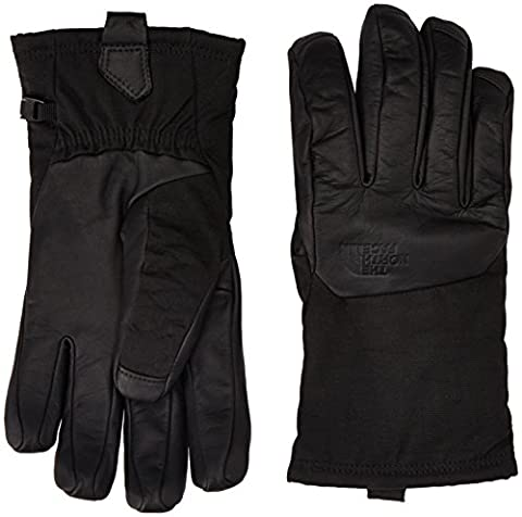 The North Face Men's Denali Se Leather Gloves - TNF Black, Medium