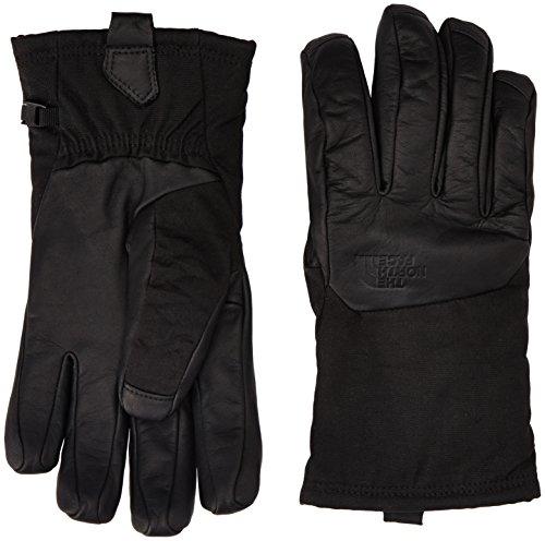 Face North The 3m (The North Face Herren Handschuhe Denali SE Leather Gloves, Tnf Black, M, T0CE94)