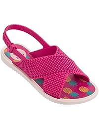 Huhua Sandals For Boys, Sandali Bambine Nero Nero 6-12 Months, Rosa (Pink), 26 EU