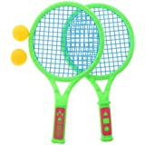 Tradico® 2X Kids Interest Tennis Set Tennis Racket + Ball Badminton Kid Sports Toys Small