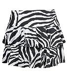 Fashion Charming-Womens Animal Zebra Leopard Print Mini RARA-Minirock Rock