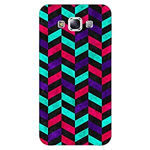 Jugaaduu Tribal Back Cover Case For Samsung Galaxy E5