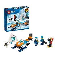 Prendi la macchina fotografica e recati al sito degli scavi con il Team di esplorazione artico LEGO® City 60191 Il team ha trovato un interessante reperto e ha bisogno di scattare qualche foto prima di riportarlo alla base. Carica la motoslitta e gui...