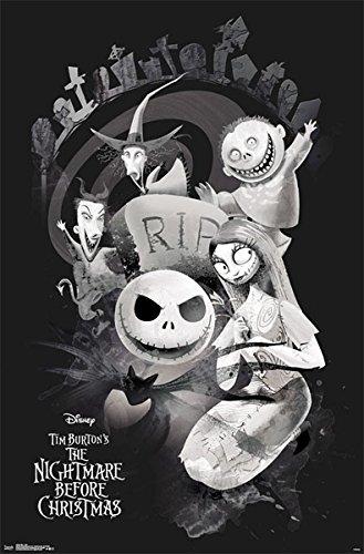 istmas RIP Poster (55,5cm x 86,5cm) + Ü-Poster (Halloween Rip)