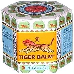 Baume du tigre Blanc soulage Migraines et muscles (30gr) avec 25% de Camphre
