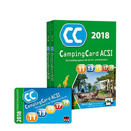 Produktbild CampingCard ACSI 2019 (ACSI Campinggids)