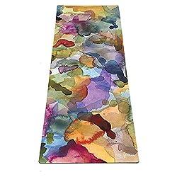 Yoga Design Lab La Esterilla de Yoga Combo 3.5mm. Dos en Uno | Antideslizante | Acolchada | Ecológica | Lavable a la Máquina (Savasana)