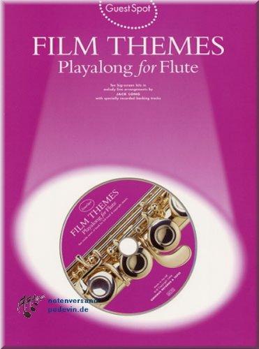 Film Themes Playalong for Flute - Flöte Noten [Musiknoten]