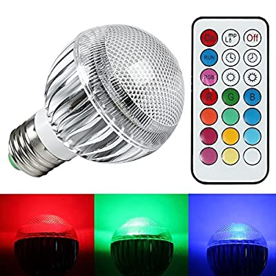 Auraglow Colour Changing 4.2w Bulbs - low-cost UK light shop.