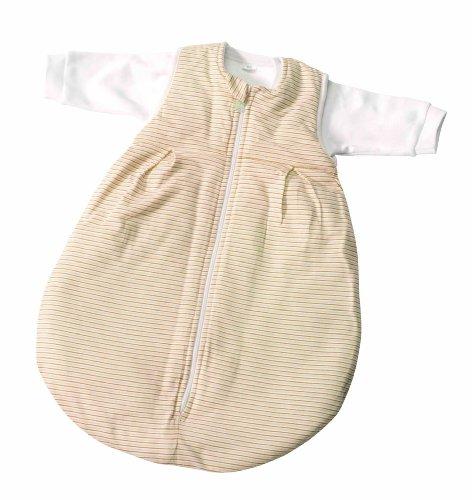 Easy Baby 456-07 Schlafsack, 2 in 1, 50-56, Streifen, ecru