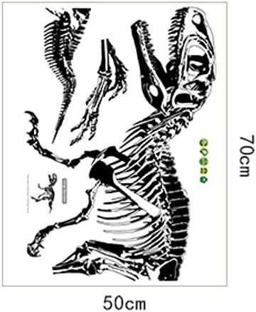 RFGTYBDD RFGTYBDD RFGTYBDD Adorable Moderne et Simple Dinosaure Fossil Stickers Muraux Autocollant Affiché pour Art Sticker Decor (Noir) B07GRVGWMS 2cd880