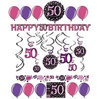 Suchergebnis Auf Amazon De Fur Geburtstag 50 Party Dekoration