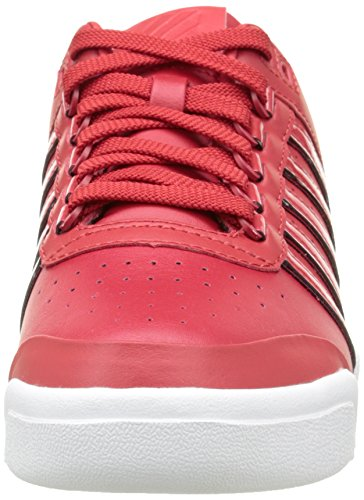K-Swiss Gstaad Big Logo, Baskets Basses Homme Rouge (Ribbon Red/White)