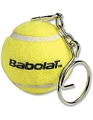 Babolat de pelota de tenis llavero con muñeca