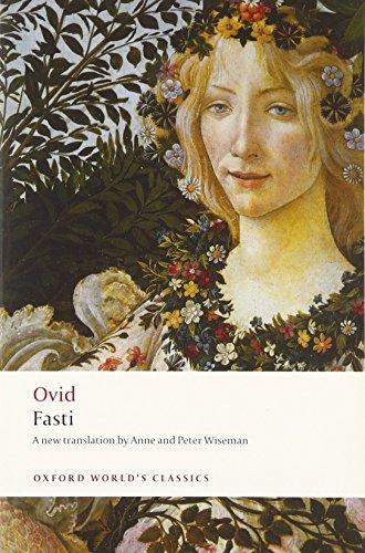 Fasti (Oxford World's Classics) por Ovid