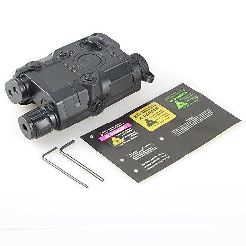 ATAIRSOFT Marine-Dichtung PEQ-15 Dummy Batterie Fall für Taktische AEG Airsoft Display schwarz EX1401