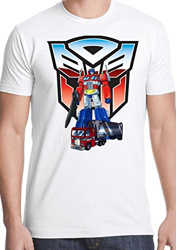 Men's Transformers 80s Cartoon Tee Shirt