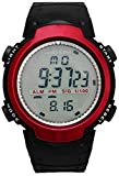 Swadesi Stuff Digital Sports Watch for Men and Women(Red Dial)