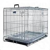 Hundekäfig, mit Polster, einfache Montage, zum Training oder Transport von Haustieren geeignet