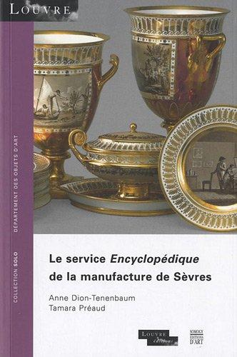 Le service Encyclopédique de la manufacture de Sèvres