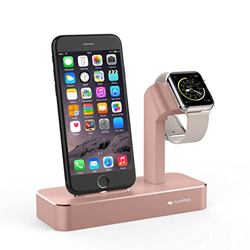 Applewatch StazionidiRicarica , iVAPO Apple Watch Supporti iPhone Station di