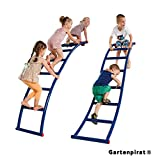 Gartenpirat Kletterleiter aus Metall Leiter für Kinder Spielturm Wohnung