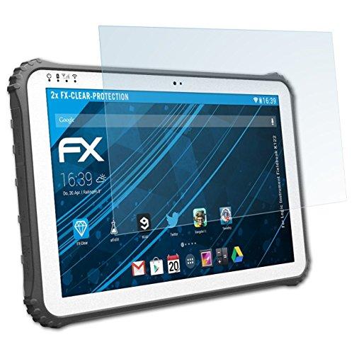 atFolix Schutzfolie kompatibel mit Logic Instrument Fieldbook K122 Folie, ultraklare FX Displayschutzfolie (2X)