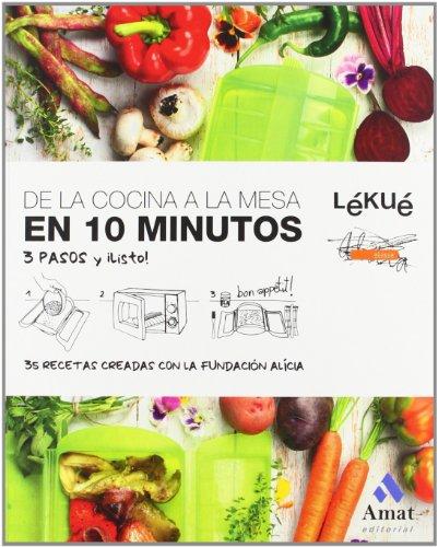 De la cocina a la mesa en 10 minutos por Fundació Alícia