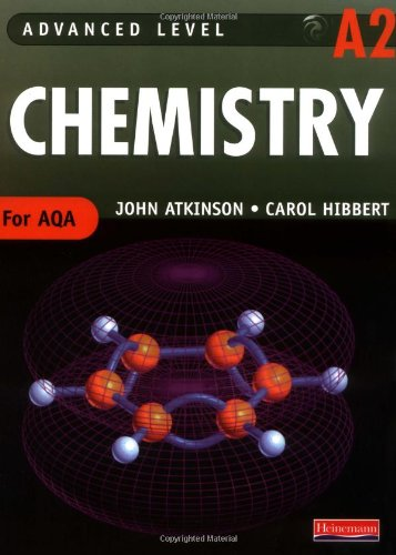 AQA A2 Level Chemistry Student Book (Advanced Level Chemistry for AQA)
