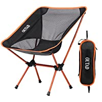 OUTAD Camping Folding Chair 330lb Capacity Lightweight Outdoor Portable Fishing Chair Hiking Fishing Picnic Beach Carry Bag