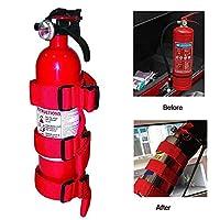 Womdee Adjustable Roll Bar Fire Extinguisher Holder for Jeeps - Premium and Easy to Install, Suitable for Jeep Wrangler, Unlimited, CJ, YJ, LJ, TJ, JK, JKU, JL, JLU etc