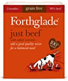 Forthglade Natural Dog Food Beef Menu 395 g (Pack of 18)