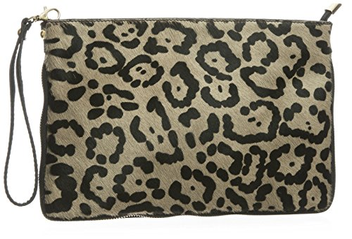 Big Handbag Shop, Borsetta da polso donna One Malva (Jaguar - Taupe)