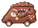 Schokoladen Weihnachtsmann im Bus, 100g