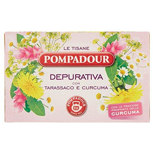 pompadour tisana depurativa - 18 filtri