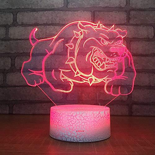 3D Lampe Illusion Optische LedMädchen bauen Täuschung Nachtlicht Touch Licht 7 farben farbwechsel berührungssteuerung zuhause dekor tischleuchte mit Fernbedienung Usb Power für mädchen junge
