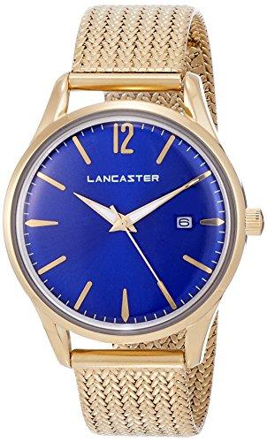 "Lancaster Paris ""Heritage"" reloj de pulsera azul mujer"