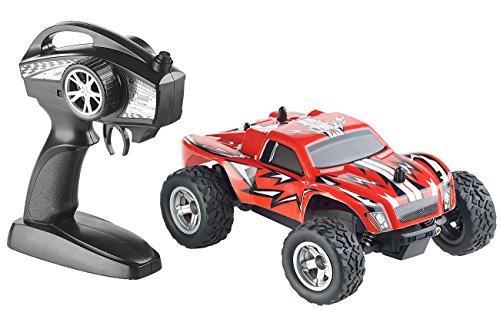 Simulus Monstertruck: Ferngesteuerter Monster-Truck Land Monster, 2,4-GHz-Funk, 15 km/h (Ferngesteuertes Auto)