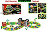 #9: Happy GiftMart 158 Pcs Glow In The Dark Race Track Magical Set With Castle