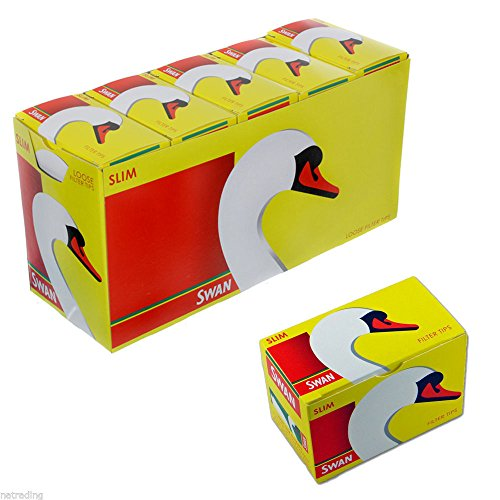 Budget-filter (Swan Swan Slimline Box Spitzen, 10 Päckchen = 1650 Filter)