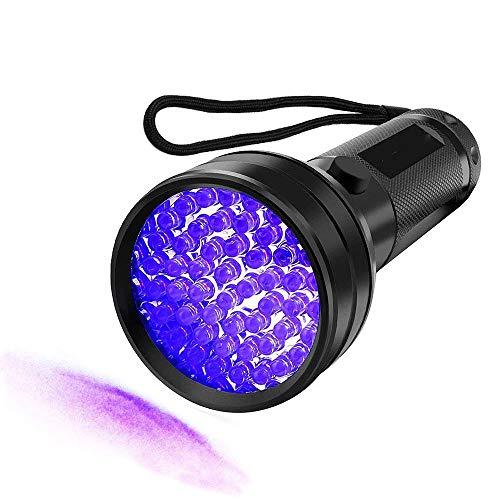 WindFire - Linterna LED luz ultravioleta perro, gato