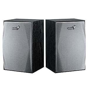 Genius SP-HF150 USB Powered Wood Speakers (Black)