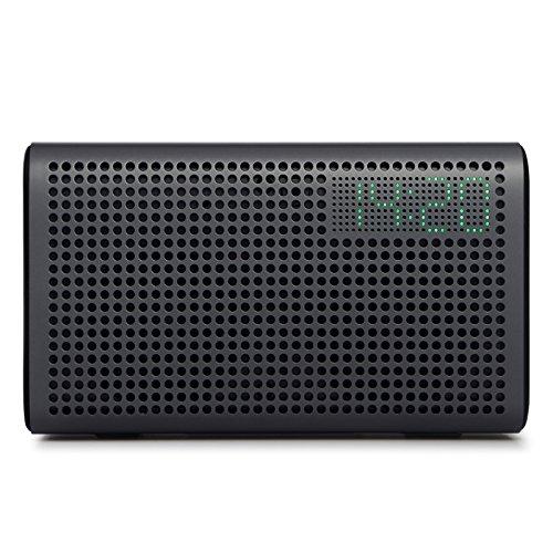 GGMM E3 - Altoparlante Multiroom con Amazon Alexa Integrato, Wi-Fi/ Bluetooth Airplay, Orologio LED, Porta di Ricarica USB per Apple e Android