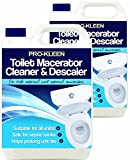 Pro-Kleen Toilet Macerator Cleaner & Descaler 10L - Highly Concentrated, Long-Lasting Formula - Compatible With All Saniflo Pump Units, Toilets & Urinals - Helps Prolong Life of Unit