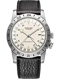 Glycine Airman Mens Analogue Automatic Watch with Leather Bracelet GL0164