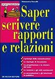 Image de Saper scrivere rapporti e relazioni